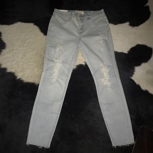 Pacsun ripped jeggings size 27 NWT LIGHT BLUE
